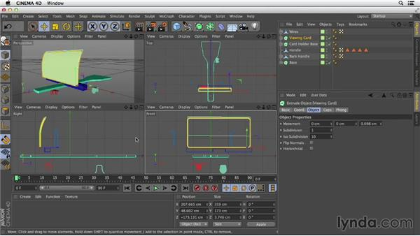 Snapping: Primitive and Spline Modeling in CINEMA 4D