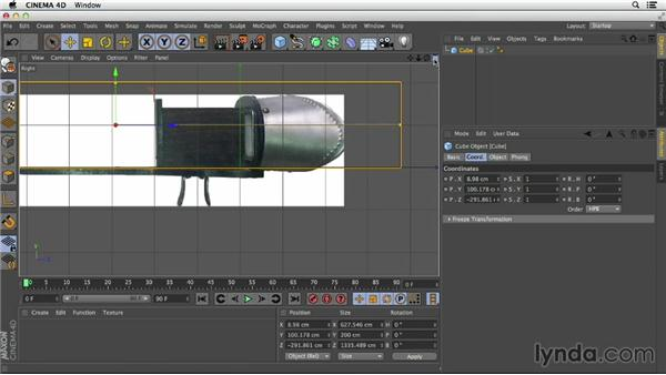 Adding references to your viewports in CINEMA 4D: Primitive and Spline Modeling in CINEMA 4D