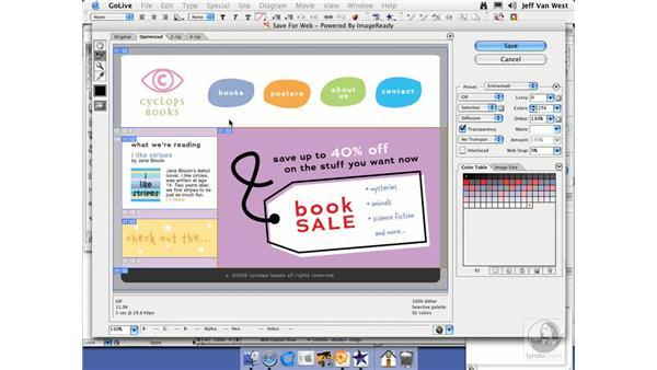 GoLive CS2: Illustrator CS2 Essential Training