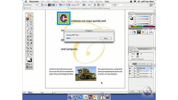 Acrobat 7.0: Illustrator CS2 Essential Training