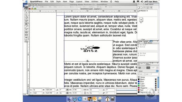 Quark 6.5: Illustrator CS2 Essential Training
