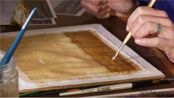 Establishing value: Artist at Work: Tertiary Colors