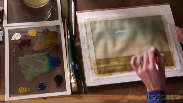Making your focal points in an image pop: Artist at Work: Tertiary Colors