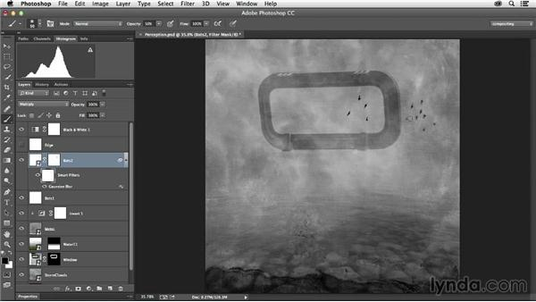 Adding supporting elements: The Art of Photoshop Compositing