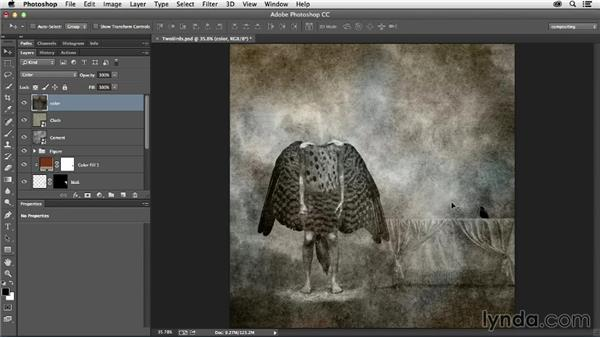 Unifying with texture: The Art of Photoshop Compositing
