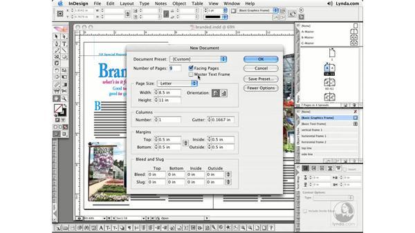 New Documents: InDesign CS2 Essential Training
