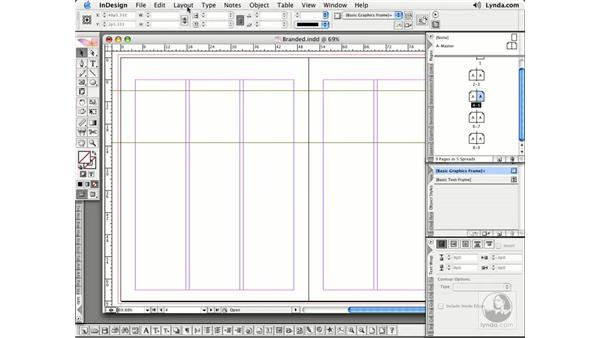 Arranging Pages: InDesign CS2 Essential Training