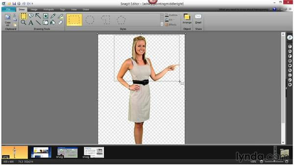 Editing graphics with Snagit: Up and Running with Lectora Inspire