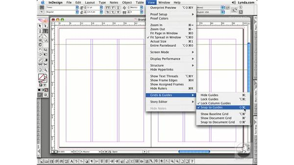 Creating Master Pages: InDesign CS2 Essential Training