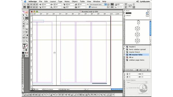Page Numbers: InDesign CS2 Essential Training