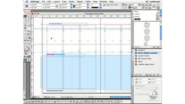 Overriding: InDesign CS2 Essential Training