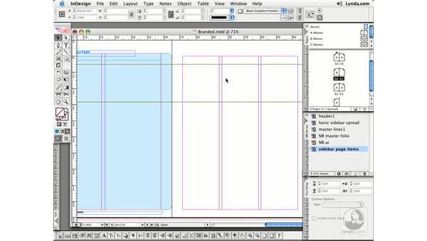 Applying Masters: InDesign CS2 Essential Training