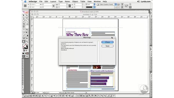 Converting QuarkXPress Documents: InDesign CS2 Essential Training