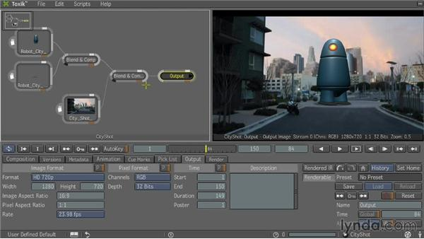 Toxik interface: Entertainment Creation Suite: Getting Started with Toxik