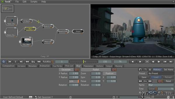 Using special effects: Entertainment Creation Suite: Getting Started with Toxik