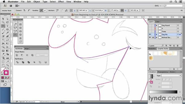 Building base vector shapes: Part one: Artist at Work: From Sketch to Finished Vector Illustration