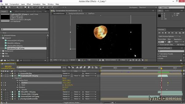 Adapting stock footage: VFX Techniques: Space Scene 02: Compositing in After Effects