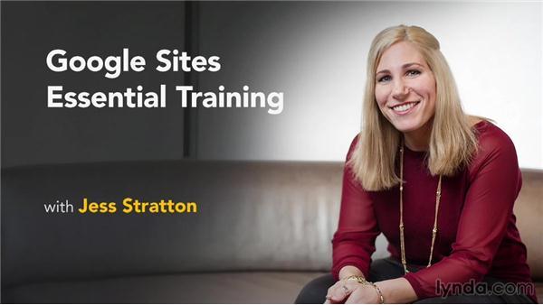 Next steps: Google Sites Essential Training