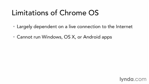 Limitations of Chrome OS: Up and Running with Chrome OS