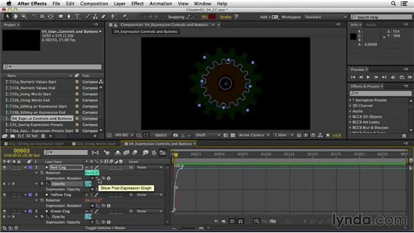 Viewing the post-expression graph: After Effects Expressions: Getting Started