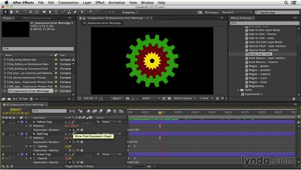 Understanding expression error warnings: After Effects Expressions: Getting Started
