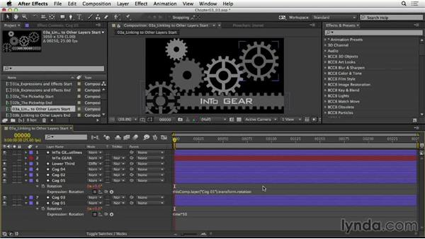Linking to other layers: After Effects Expressions: Getting Started