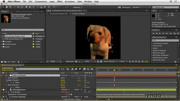 Easing ranges and values: After Effects Expressions: Getting Started