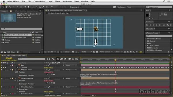 Animating data in graphs: After Effects Expressions: Getting Started