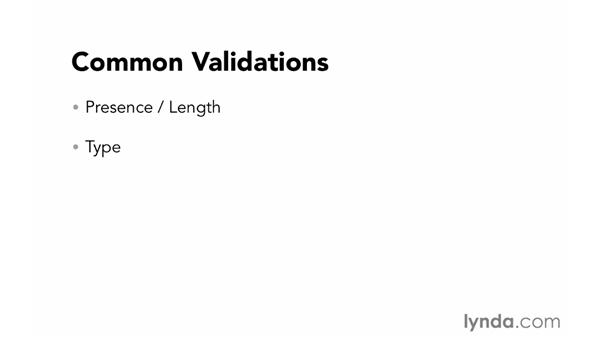 Validating input: Foundations of Programming: Web Security