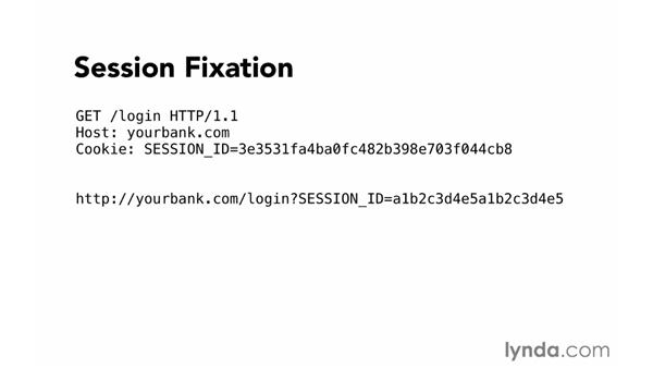 Session fixation: Foundations of Programming: Web Security