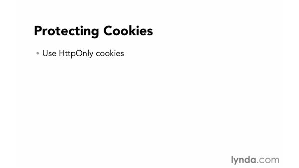 Protecting cookies: Foundations of Programming: Web Security