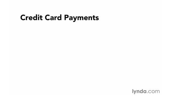 Credit card payments: Foundations of Programming: Web Security