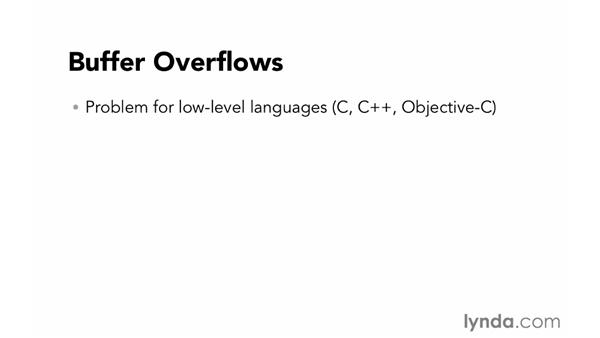 Buffer overflows: Foundations of Programming: Web Security