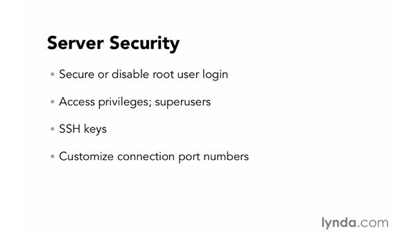 Server security: Foundations of Programming: Web Security