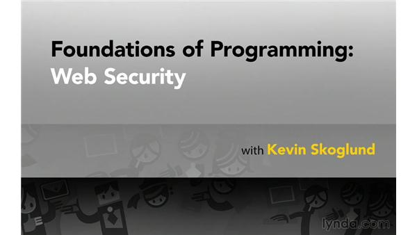 Goodbye: Foundations of Programming: Web Security