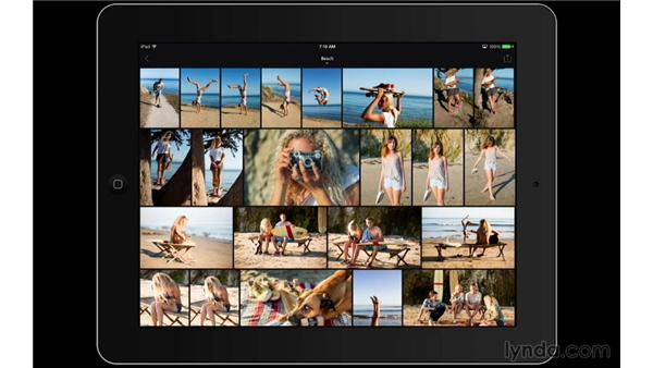 Choosing a collection and viewing your photos: Lightroom Mobile First Look