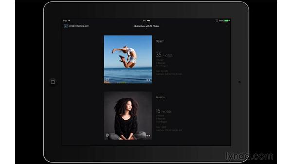 Customizing the cover photo and viewing extras: Lightroom Mobile First Look