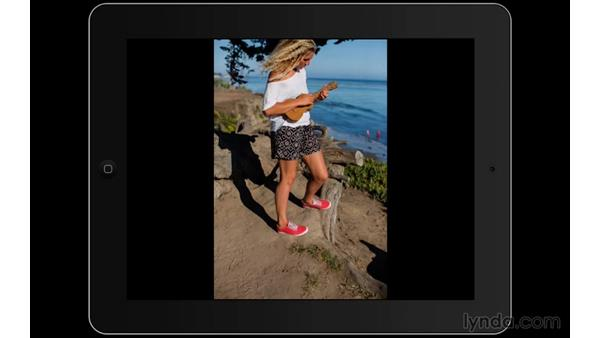Using the Slideshow feature: Lightroom Mobile First Look