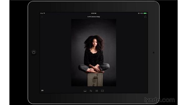 Selecting the keepers with flags: Lightroom Mobile First Look