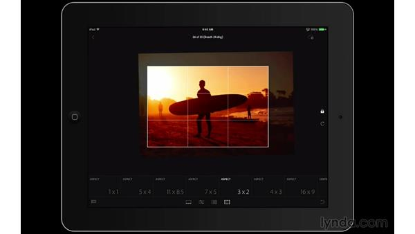 Cropping your photographs: Lightroom Mobile First Look