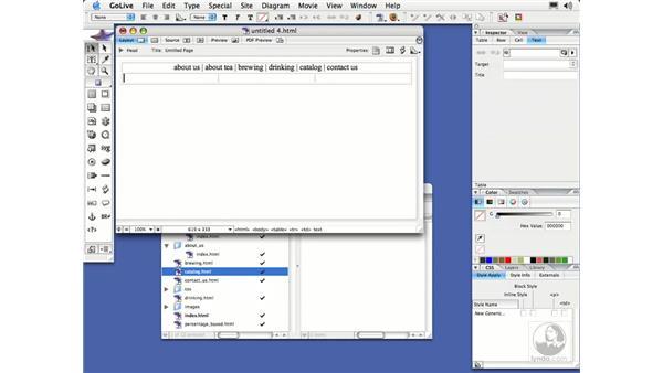 Text Wrap: GoLive CS2 Essential Training