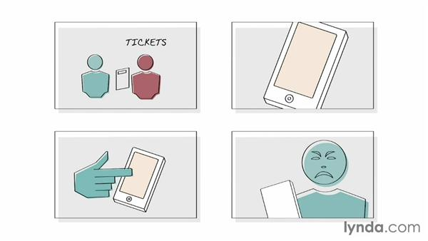 Storyboard creation: UX Design Techniques: Creating Scenarios and Storyboards