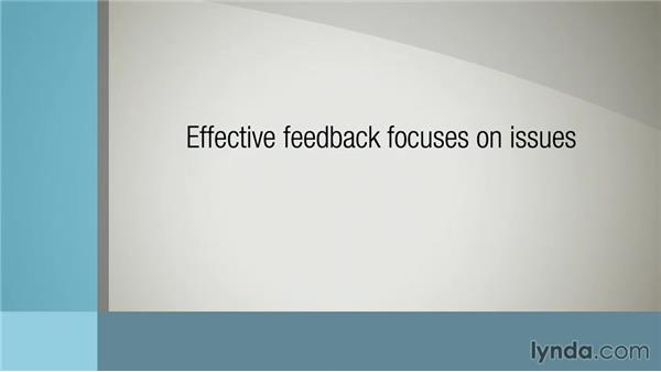 Discovering characteristics of effective feedback: Delivering Employee Feedback