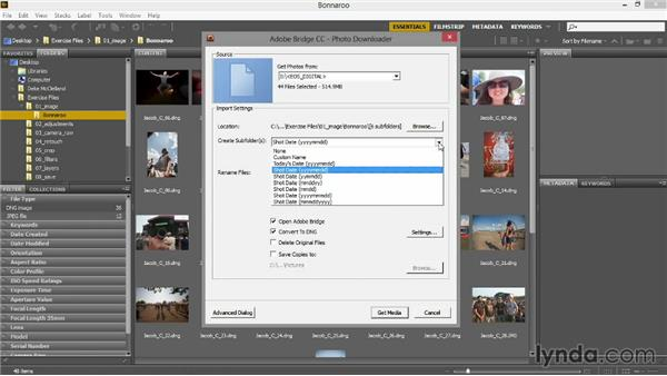 Getting photos from your camera: Introducing Photoshop: Photography