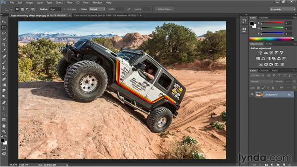 Getting around an image: Introducing Photoshop: Photography