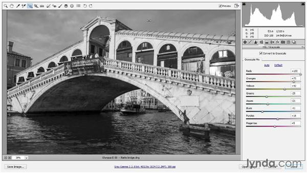 Converting to black and white: Introducing Photoshop: Photography