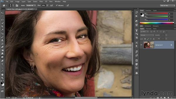 Retouching eyes, teeth, and skin: Introducing Photoshop: Photography