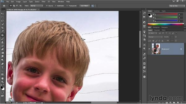 Removing unwanted elements: Introducing Photoshop: Photography