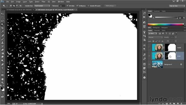 Using layer masks and blend modes: Introducing Photoshop: Photography