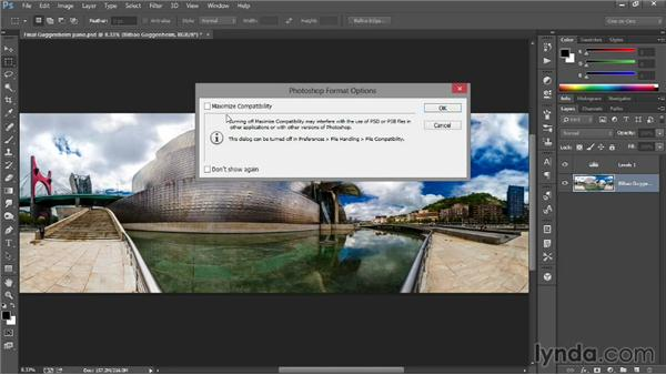 Saving your image: Introducing Photoshop: Photography